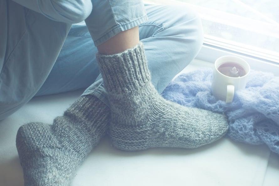 Unelma itse tehdyistä sukista lähestyy täyttymistään!