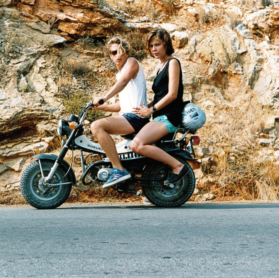 """""""Parikymppisinä kiertelimme vaimoni Päivin kanssa interraililla, tässä Kreikan saaristossa."""""""