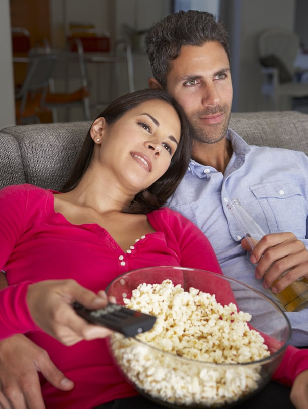 Elokuva ja poppareita: täydellinen perjantai-ilta!