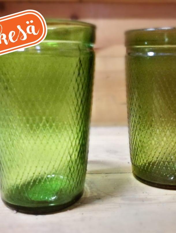 Muistatko sinäkin nämä lasit?