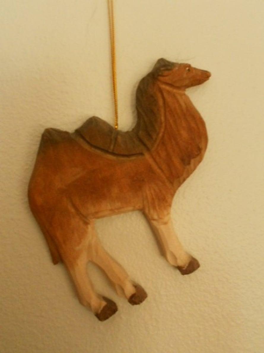 Haaveilemme lämpimistä maista, lomamatkasta ja kameliratsastuksesta. Rahattomina emme kuitenkaan pääse lomalle, joten kameli mukanamme antaa haaveille pientä lohtua. - Virpi Hynönen