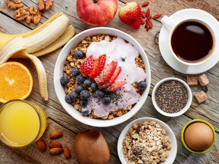 Mahdollisuudet hyvään päivään kasvavat rutkasti tämän aamiaisen syömisen jälkeen.