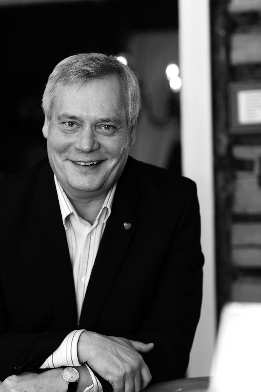 Antti Rinne Heta Ravolainen