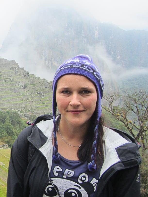 Heidi on käynyt 30 maassa. Machu Picchun inkakaupunki Perussa teki häneen vaikutuksen.