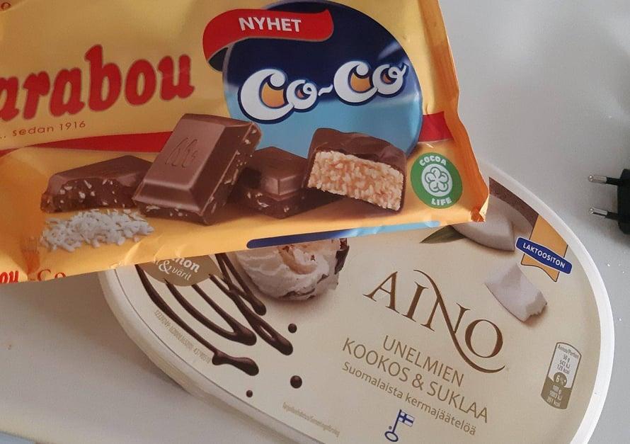 ihan parasta äkilliseen makeanhimoon kookosta rakastavalle <3