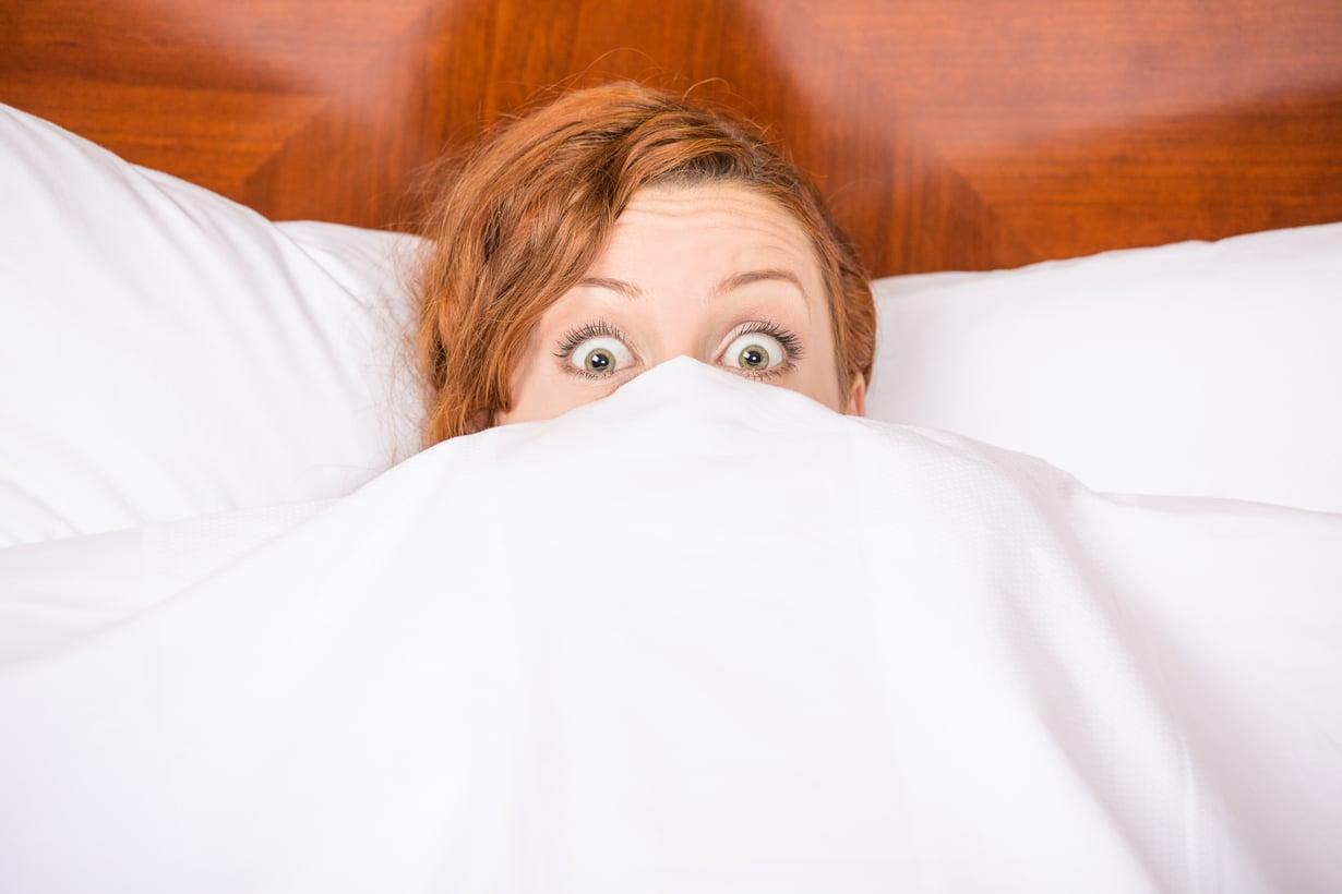 Heräsitkö taas tuttuun painajaiseen?