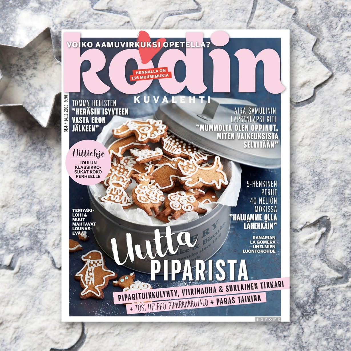 Kodin Kuvalehden numero 22/2019 jaetaan tilaajille Postin lakon päätyttyä.