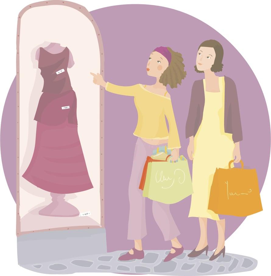 """""""Äiti halusi ystävällisesti ostaa minulle mekon syntymäpäivälahjaksi ja lupautui itse makutuomariksi. Se oli virhe."""""""