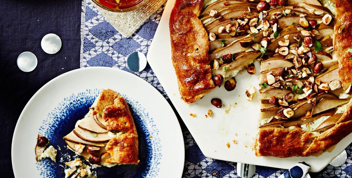 Juuston ja päärynän yhdistelmä on klassinen, ja sopii mainiosti illanistujaisiin.