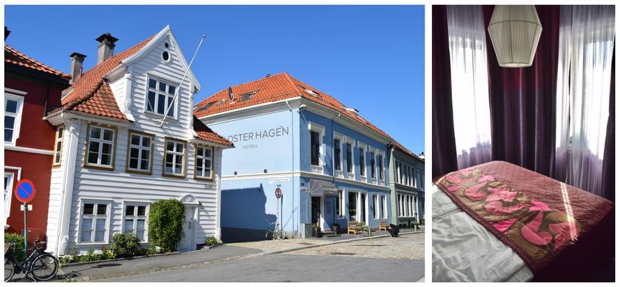 Sininen talo on Hotel Klosterhagen.
