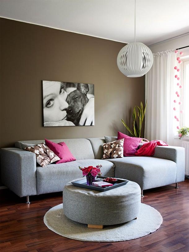 Olohuoneen uusiminen luo kotiin ihmeen ison muutoksen.