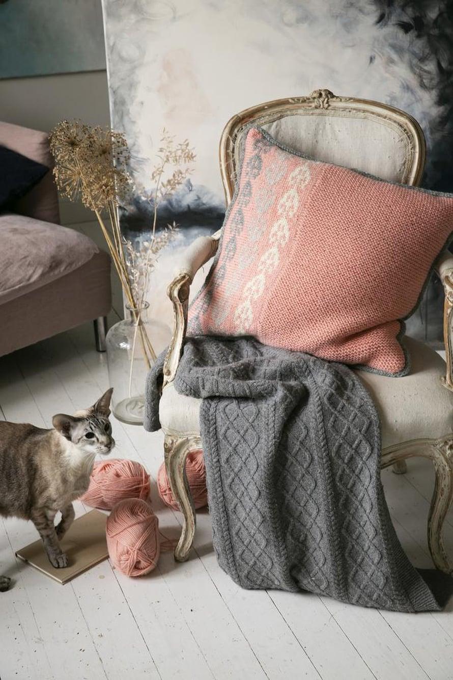 31 Perinnekuvioinen tyyny