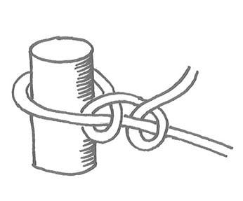 Haluatko oppia turvallisen solmun, jonka varaan voi kiinnittää vaikka riippumaton? Se on ulkosorkka.