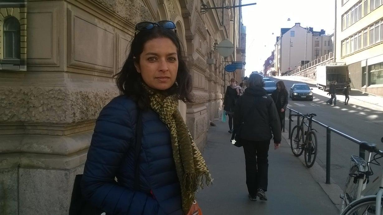 Jhumpa Lahiri kävi Helsingissä esittelemässä uutuuskirjaansa Tulvaniitty.