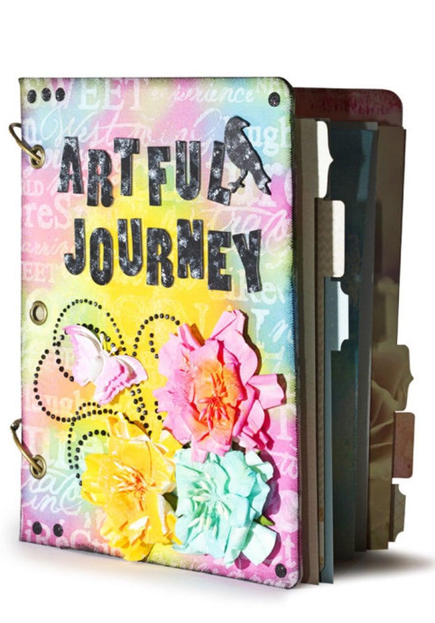 Artful Journey -albumi on päiväkirja, jossa ilmaistaan ajatuksia ja tunteita taiteen avulla.
