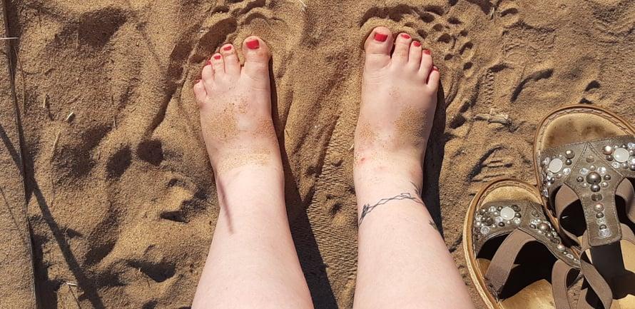 On hiekka polttavaa... (Mutta taivas ei punertanut vielä)