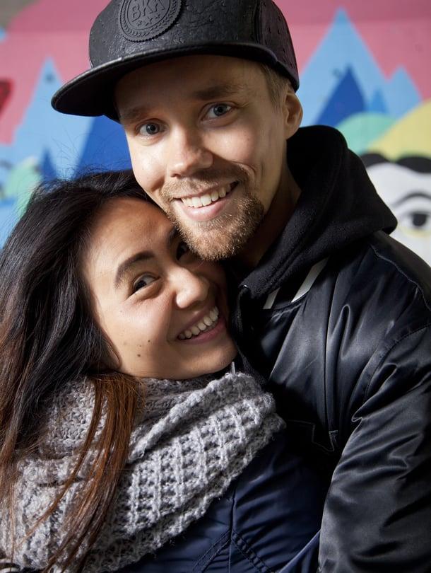 Rap-duo Immanuelista tuttu Roni Lempiäinen ja hänen vaimonsa Naomi asuvat Vantaalla.