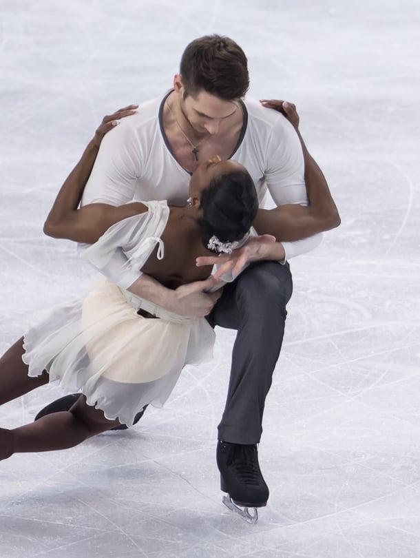 Helsingin MM-kisoissa luistelevat myös Ranskan Vanessa James ja Morgan Cipres.