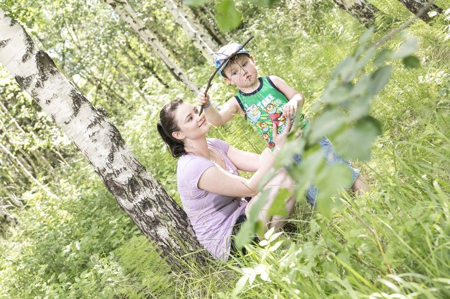 Hanna toivoo, että hänen jälkeensä jäävässä metsässä lapset kuulevat lintujen laulun.