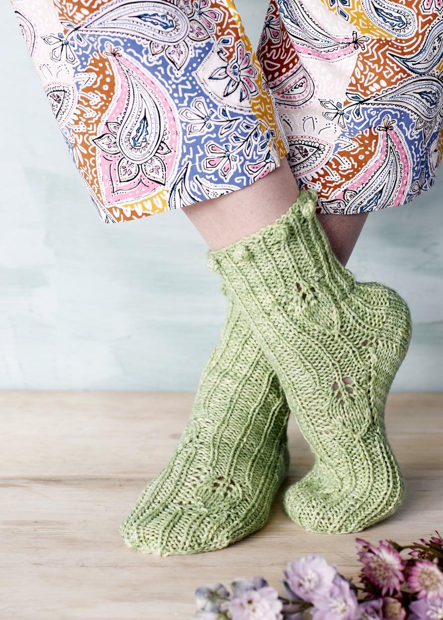 23 Vihreät Designer-sukat