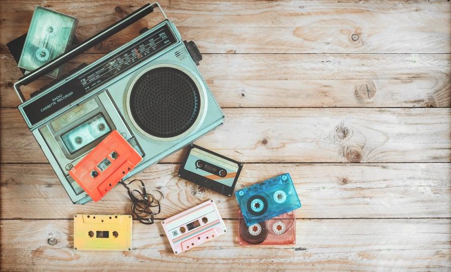 Äänititkö sinäkin Nuorten sävellahjan biisejä mankalla C-kasetille?