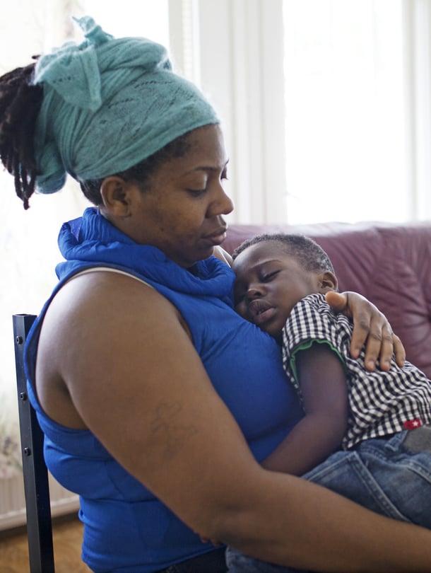Nigerialainen Jessica on ihmiskaupan uhri.
