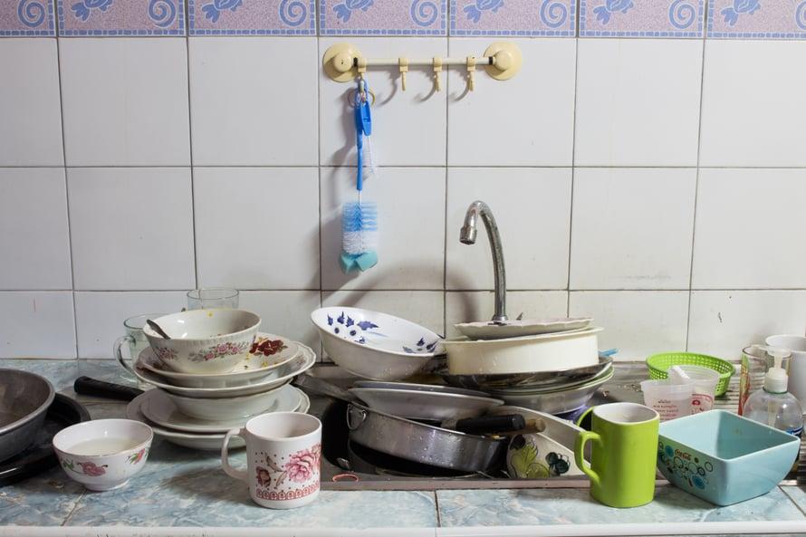 Arjen kauhu elää lähempänä kuin arvaatkaan. Keittiön tiskialtaassa, hammasmukin pohjalla, suihkuverhon saumassa.