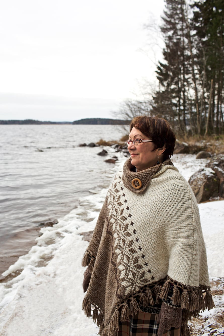 Leena Tiusanen on kiitollinen ystävistä, jotka ovat tulleet komentamaan lenkille, kun kotona olo on alkanut käydä ylivoimaiseksi.