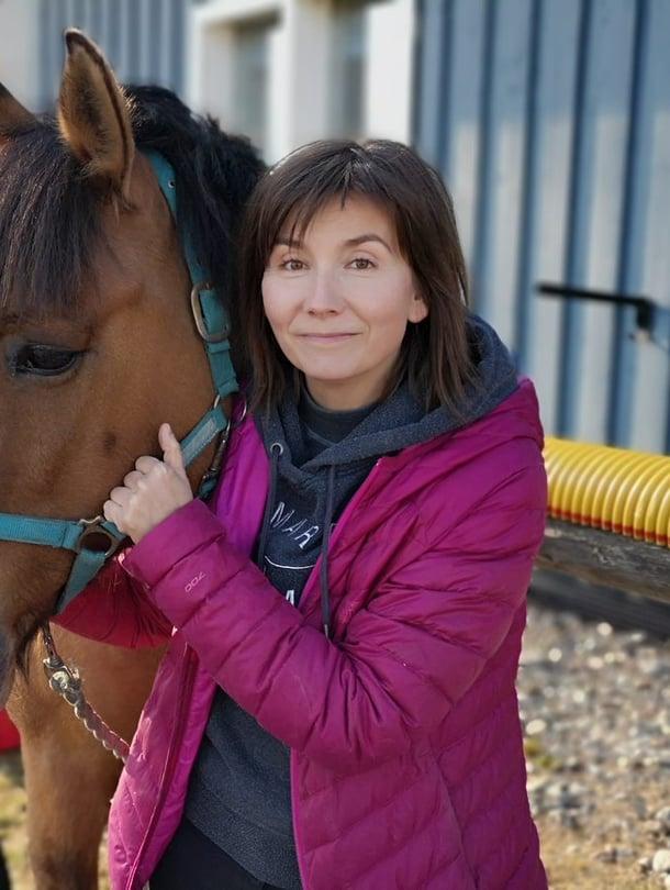 Oma hevonen oli yksi Ira Koivun suurista haaveista. Raittiuden ansiosta haave toteutui.