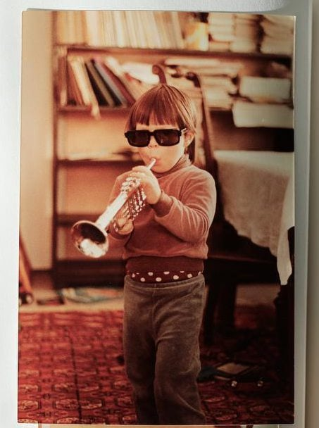 """""""Oikeasti aloin soittaa trumpettia vasta 15- vuotiaana."""""""