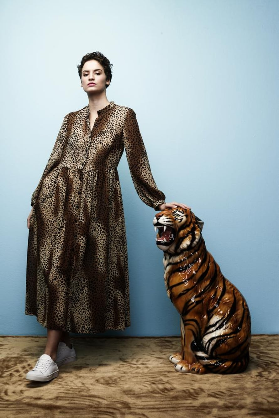1 Leopardikuosinen mekko