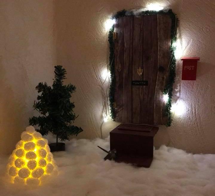 """""""Ovi on kaupasta, ja tätä muuta kehittelyä jatkuu jouluun saakka."""" Taina Heiniluoma"""