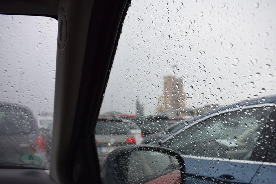 Se olis sitten sade, ukkossade. Vihdoin vettä Norjaan pitkän helteen jälkeen.