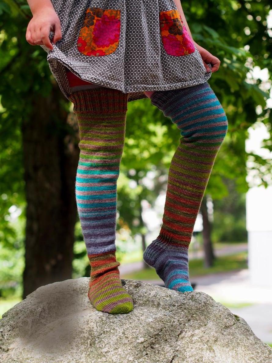 33 Lasten ylipolven Peppi-sukat
