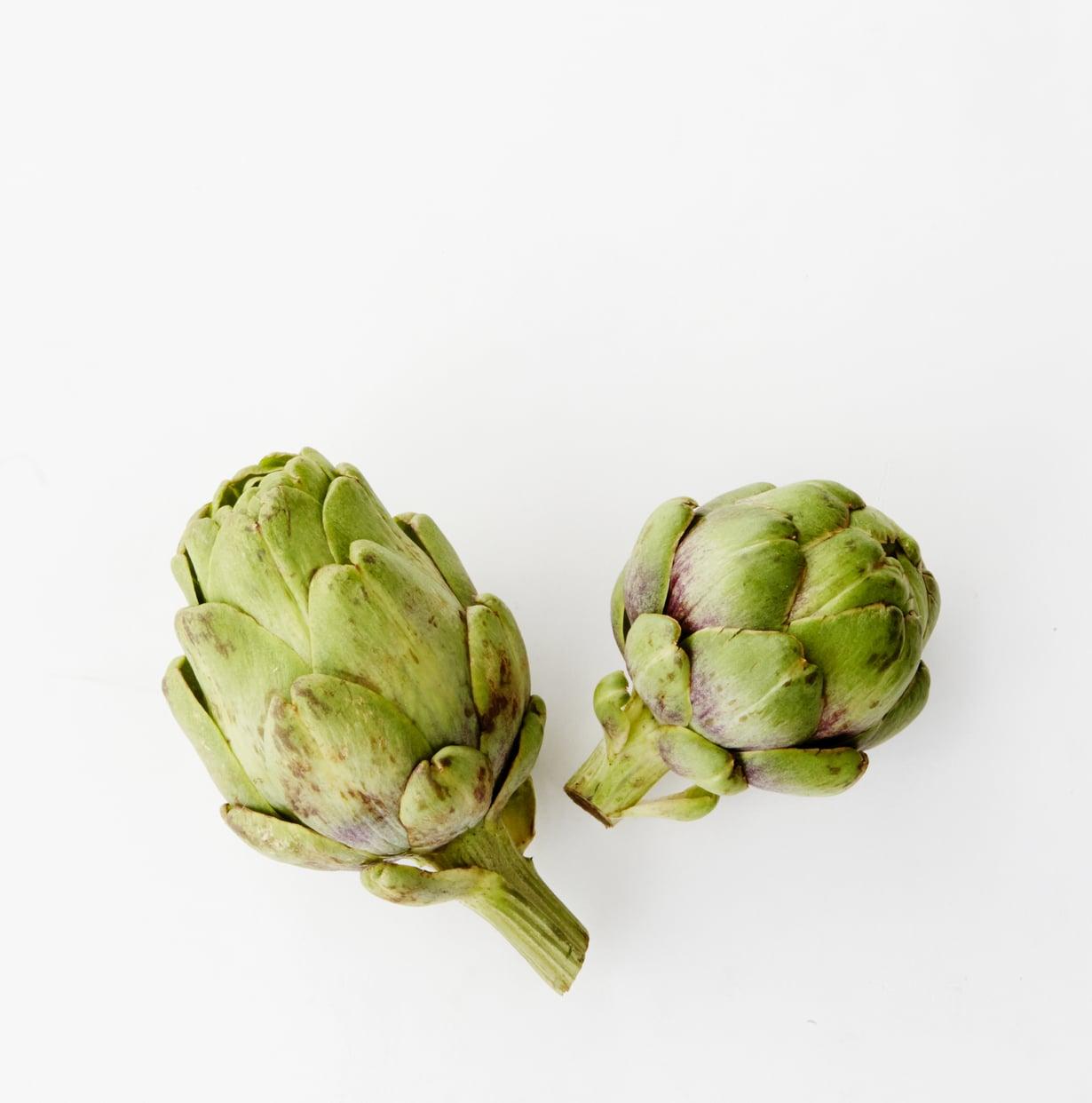 Artisokan sydämiä saa säilykepurkissa, ja niistä syntyy nopea tahna kasviksille.