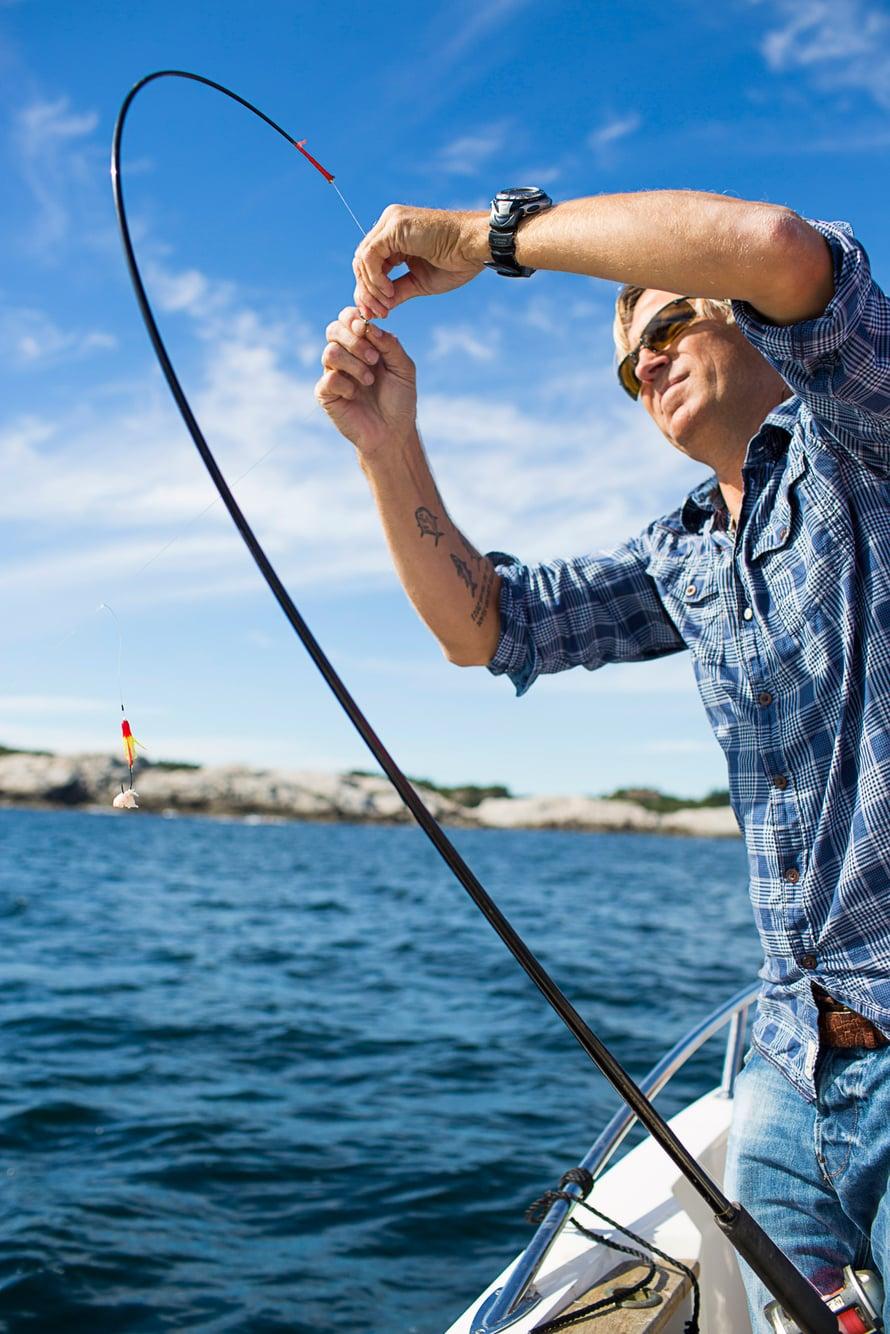 Asgeirin rakkaus mereen näkyy jokaisena päivänä – aina on hyvä päivä lähteä kalaan.