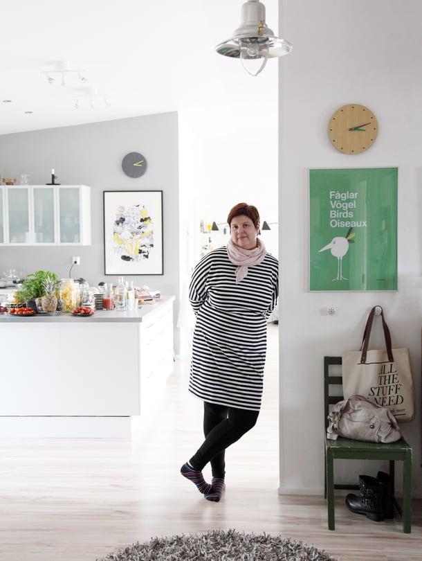 Anne Karkkosella on usein monta projektia samaan aikaan. Vaikka kiire tulee, yrittäjä ei osaa olla toimettomanakaan.